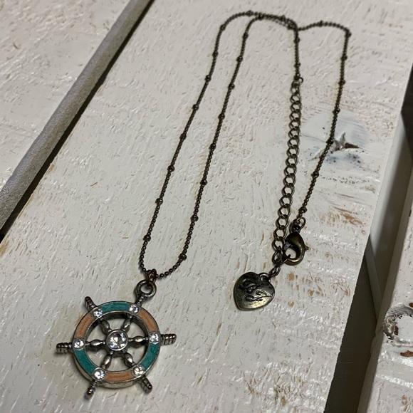 Vintage - Betsey Johnson- Nautical Necklace